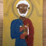 Lily's painting of St Peter
